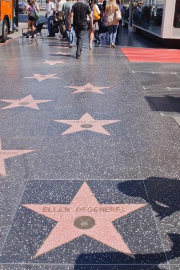 Photos courtesy of Hollywood Walk of Fame