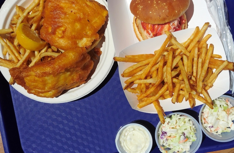 Costello's Clam Shack - Noank, CT.