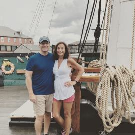 Hanging out aboard the U.S.S. Constitution