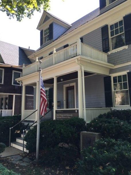 President John F. Kennedy's home