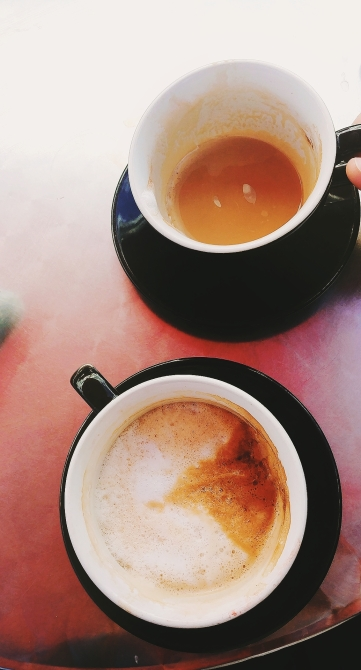 Coffee at Mornings in Paris