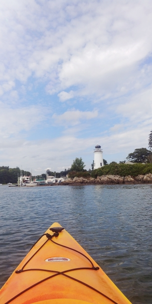 Kayaking the Kennebunk River